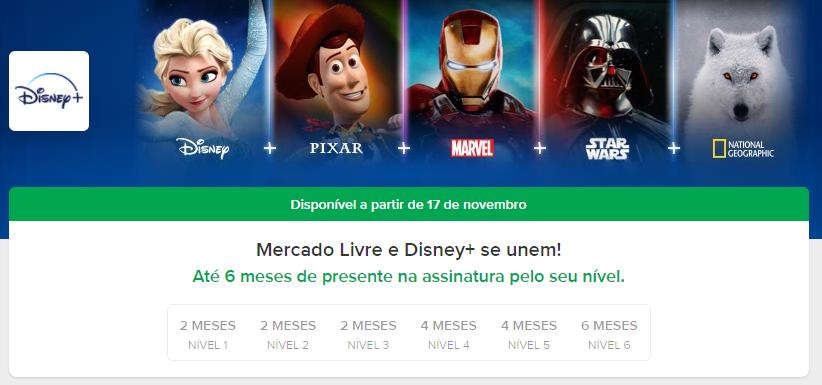 image-29 Mercado Livre também vai dar até 6 Mensalidades Grátis do Disney+