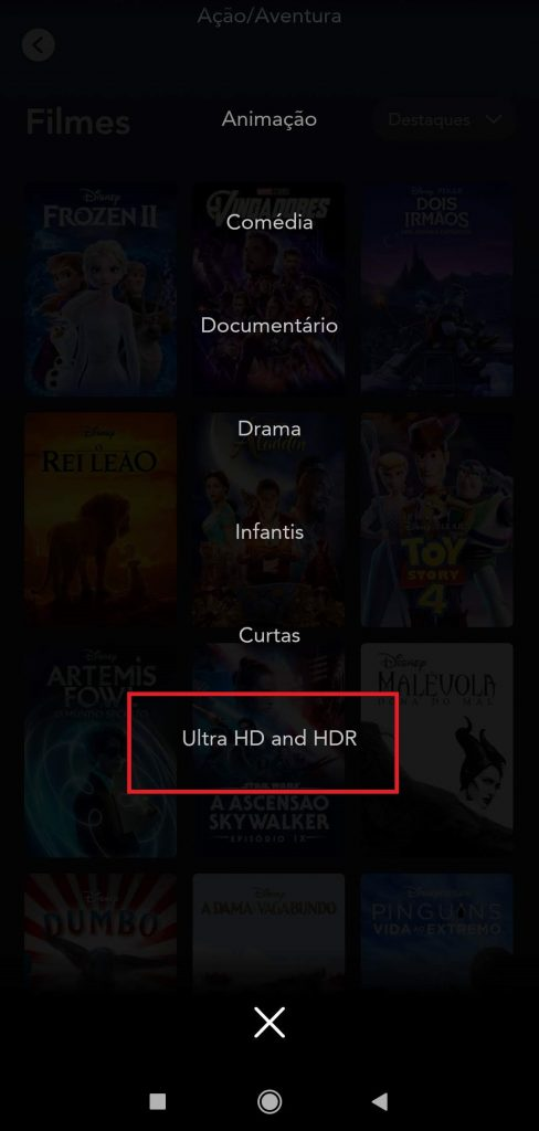 4-488x1024 Como Assistir Filmes e Séries no Disney+ na Qualidade Máxima 4K Ultra HD