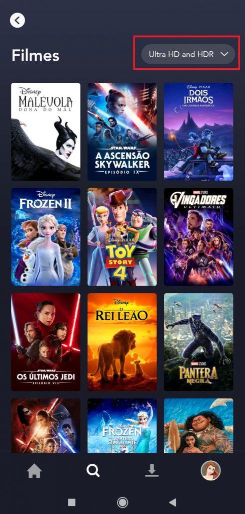 5-490x1024 Como Assistir Filmes e Séries no Disney+ na Qualidade Máxima 4K Ultra HD