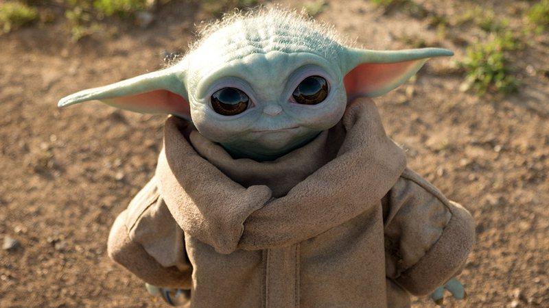 """Baby-Yoda-Grogu Baby Yoda pode ser o próximo Vilão em """"The Mandalorian"""", dizem os fãs"""