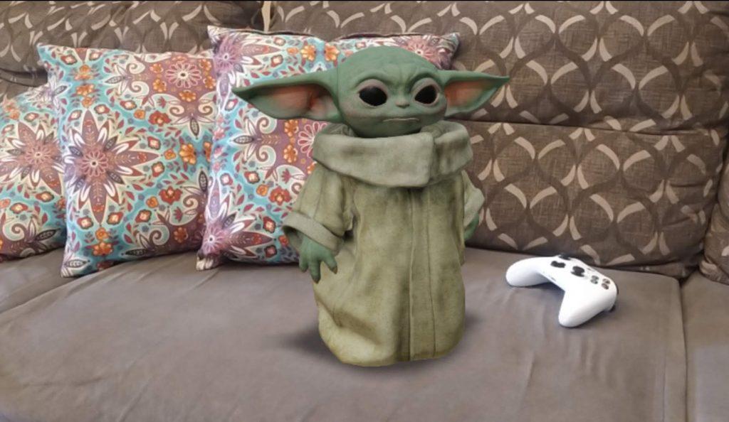 Baby-Yoda-realidade-aumentada-do-Google-1024x594 Graças ao Google, agora você pode ter um Baby Yoda pra chamar de seu