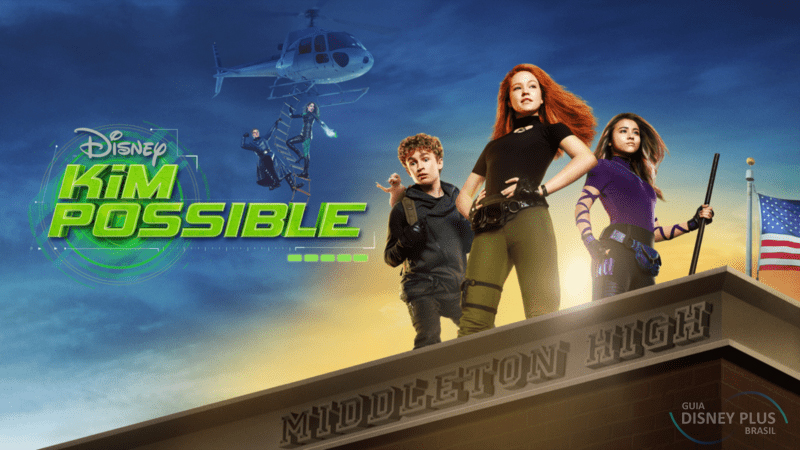Kim-Possible Confira os Lançamentos da semana no Disney+ (28/12 a 03/01)