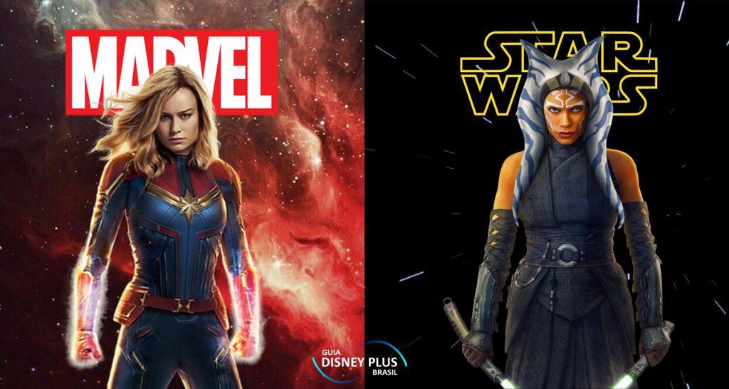 Marvel-e-Star-Wars-no-Disney-Plus-1-1024x546 Uma Assinatura do Disney+ será Essencial aos Fãs de Marvel e Star Wars