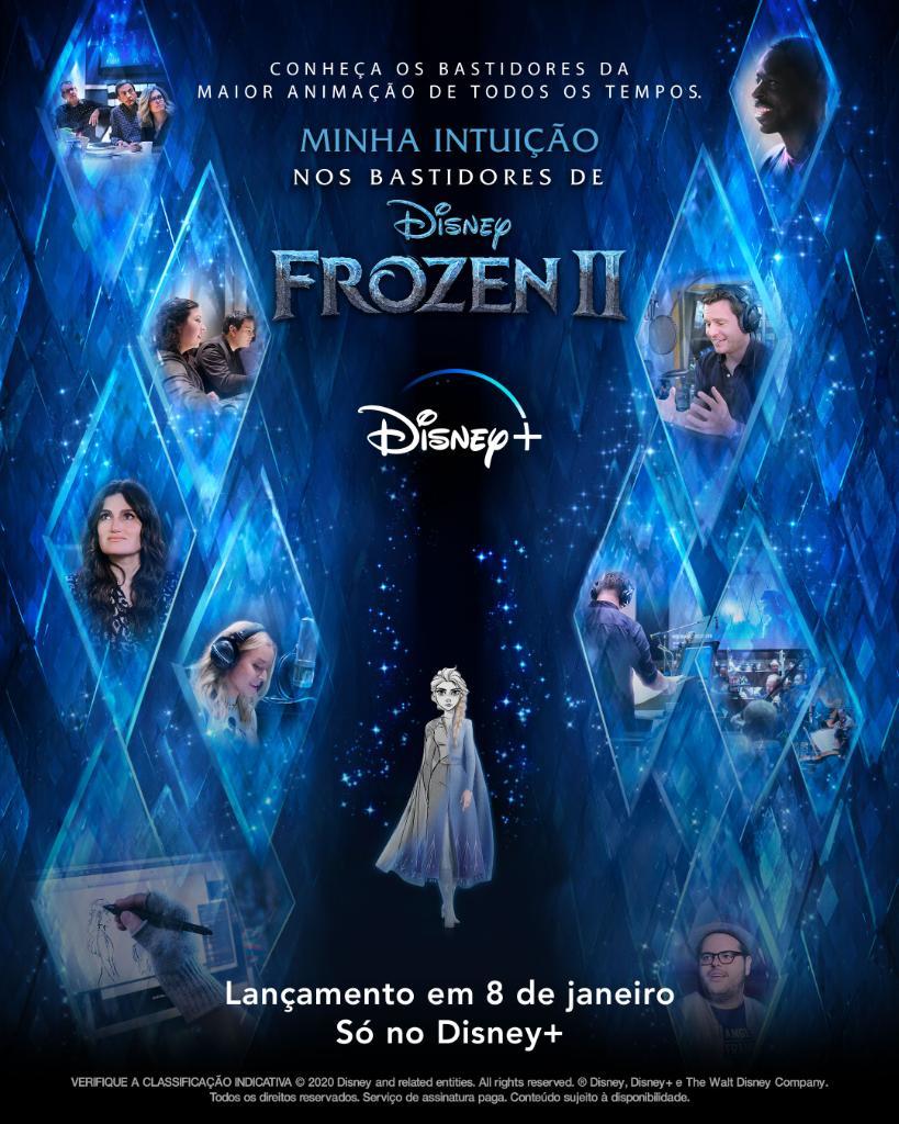 Minha-Intuicao-Nos-Bastidores-de-Frozen-2-Disney-Plus-Poster Minha Intuição: Nos Bastidores de Frozen 2 | Estreia em 08/01 no Disney+