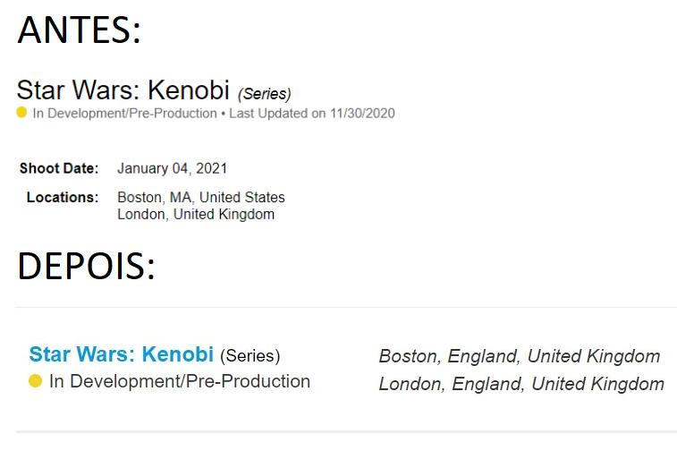 image-64 Star Wars: Kenobi | Filmagens começam em janeiro em Boston, Inglaterra (isso mesmo, Inglaterra)