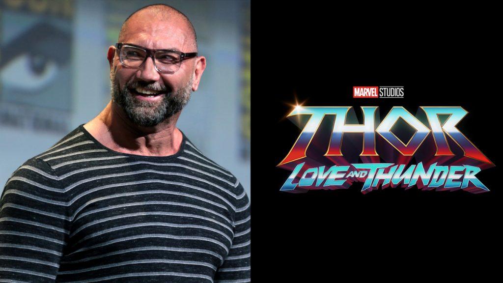 Dave-Bautista-Thor-1024x576 Thor - Amor e Trovão: Dave Bautista Divulga Foto de seu Novo Visual para o Filme