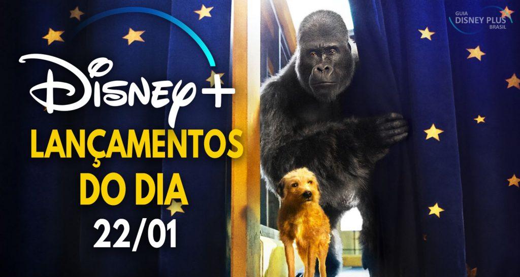 """Lancamentos-Disney-Plus-do-dia-22-01-2021-1024x546 Confira os Lançamentos de Hoje no Disney+, incluindo """"O Grande Ivan"""""""