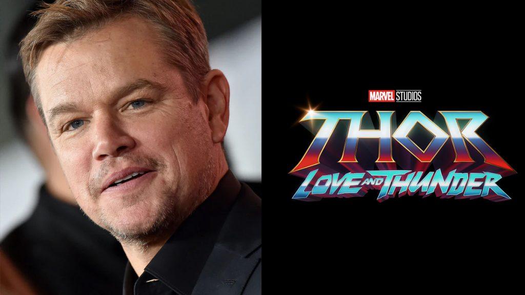 """Matt-Damon-Thor-Amor-e-Trovao-1024x576 Matt Damon é o Novo Integrante do Elenco de """"Thor: Amor e Trovão"""""""