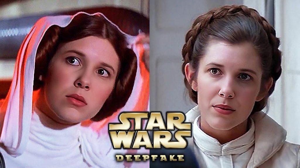 Millie-Bobby-Brown-como-Princesa-Leia-1024x576 Millie Bobby Brown, a Estrela de Stranger Things, é a Princesa Leia em Incríveis Vídeos DeepFake