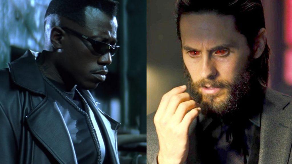 Morbius-Crossover-Blade-1024x574 Morbius: Jared Leto Discute Possibilidade de Crossover com 'Blade'