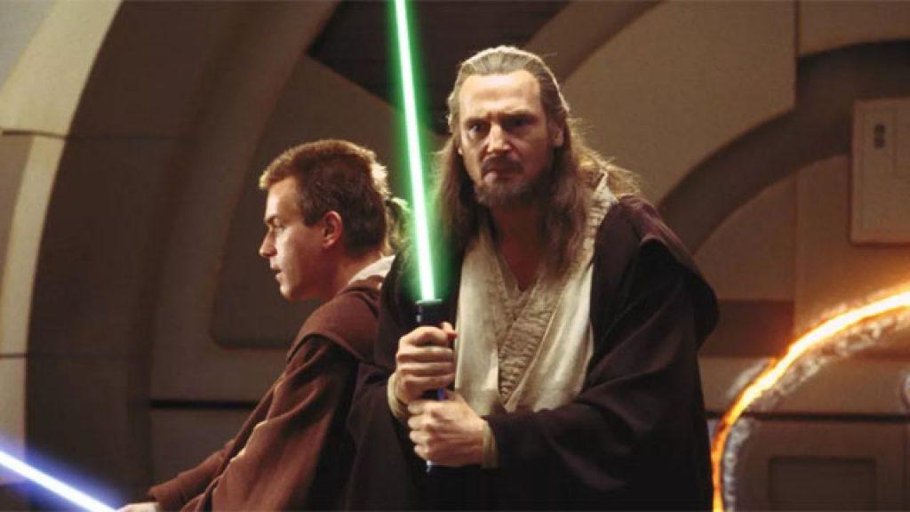 Qui-Gon-Liam-Neeson-Star-Wars-1024x576 Liam Neeson revela se estará na série Obi-Wan Kenobi do Disney+
