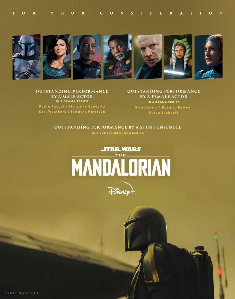 The-Mandalorian-807x1024 6 Produções da Disney Indicadas para a Temporada de Premiações 2021