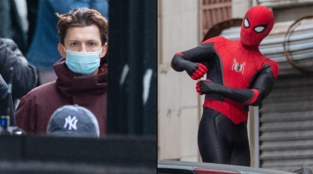 Tobey-Maguire-Homem-Aranha-3-1024x570 Homem-Aranha 3: Tom Holland Aparece em Set com Traje do Super-Herói