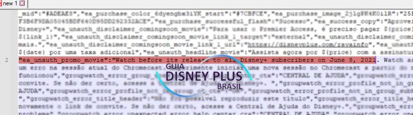 codigo-raya-premier-access Código do Disney+ mostra quando 'Raya e o Último Dragão' ficará Gratuito