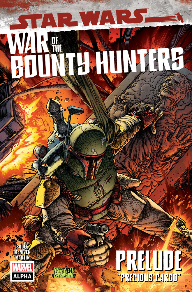 Boba-Fett-Capa-de-war-of-bounty-hunters Star Wars: Marvel Comics Anuncia Nova Série em Quadrinhos de Boba Fett