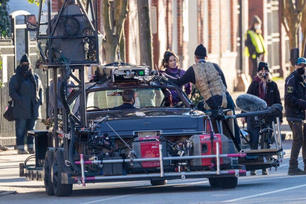 Hawkeye-Gaviao-Arqueiro-Set-de-Filmagem-10-1024x683 Gavião Arqueiro: Mais de 30 Novas Fotos e Vídeos do Set de Filmagem de 'Hawkeye'
