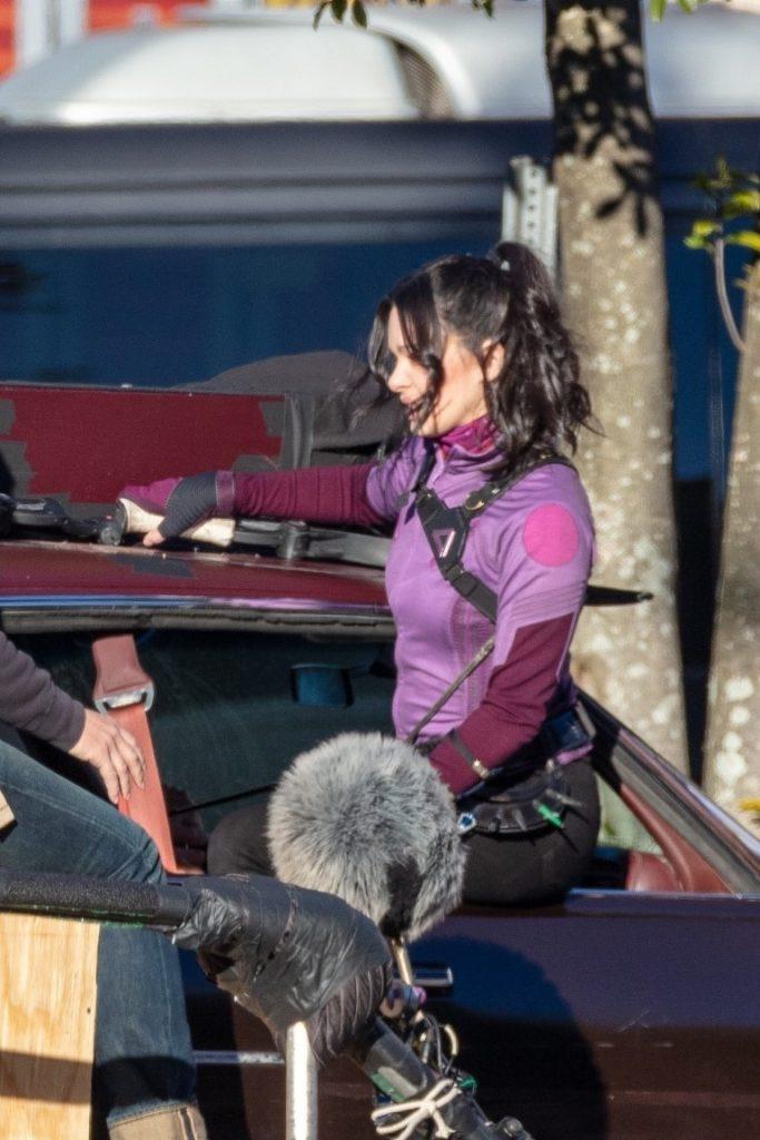 Hawkeye-Gaviao-Arqueiro-Set-de-Filmagem-2-683x1024 Gavião Arqueiro: Mais de 30 Novas Fotos e Vídeos do Set de Filmagem de 'Hawkeye'