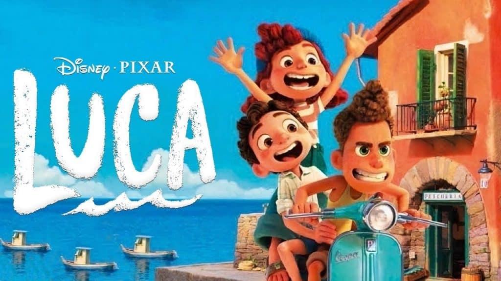 Pixar Revela Primeiro Pôster de 'Luca' - Trailer Oficial Estreia Amanhã
