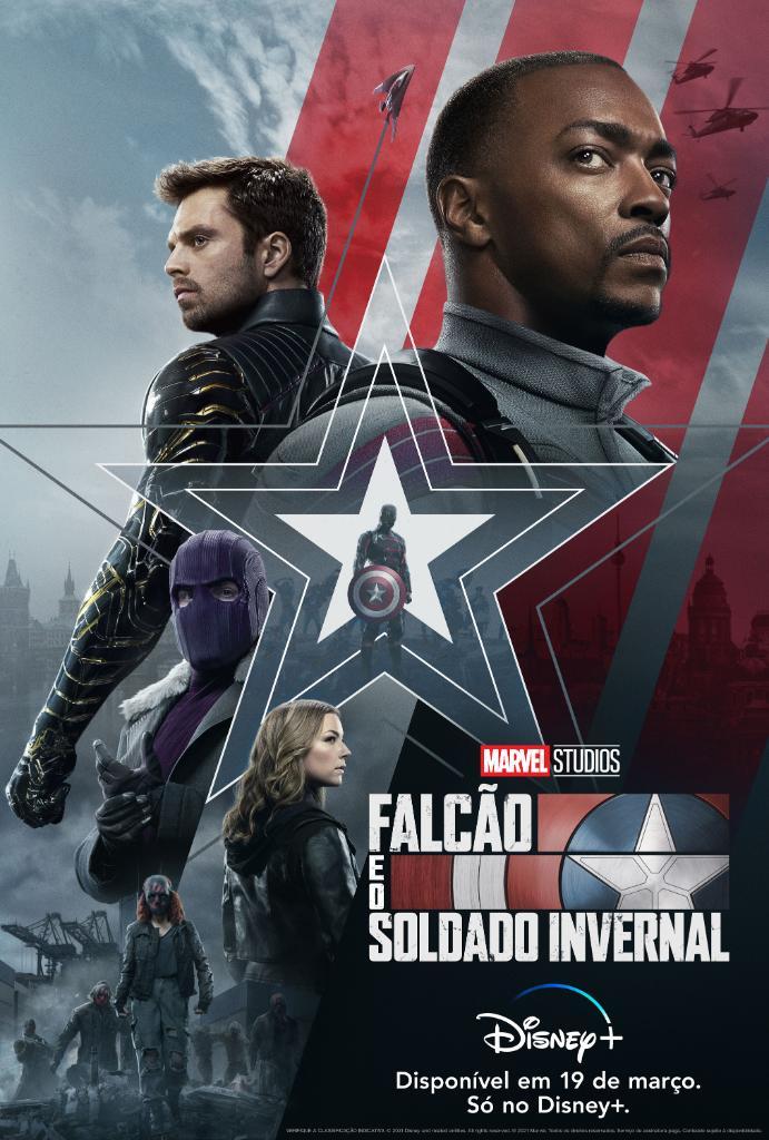 Poster-Falcao-e-o-Soldado-Invernal-PT-BR-1 'Falcão e o Soldado Invernal' Bate Recorde de Trailer de Série Mais Visto de Todos os Tempos