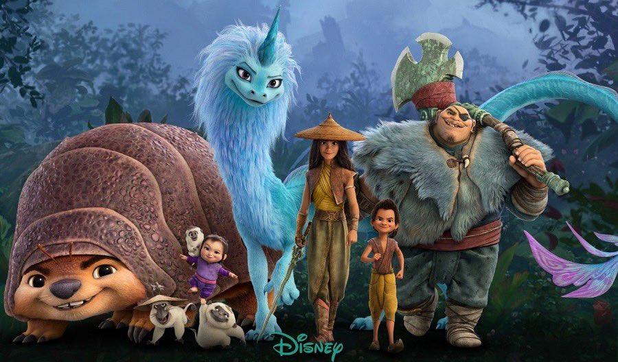Raya-e-o-Ultimo-Dragao Raya e o Último Dragão: Quem São os 3 Artistas do MCU que estão na Animação