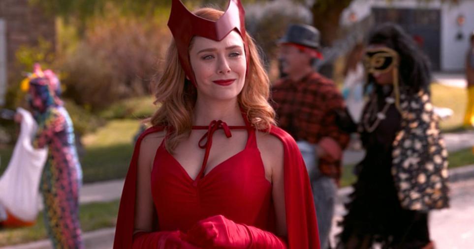 WandaVision-Halloween 'WandaVision' é Agora a Série Mais Assistida no Mundo!