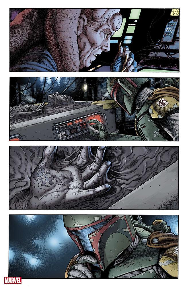 war-of-the-bounty-hunters-interior-a-39736690 Star Wars: Marvel Comics Anuncia Nova Série em Quadrinhos de Boba Fett