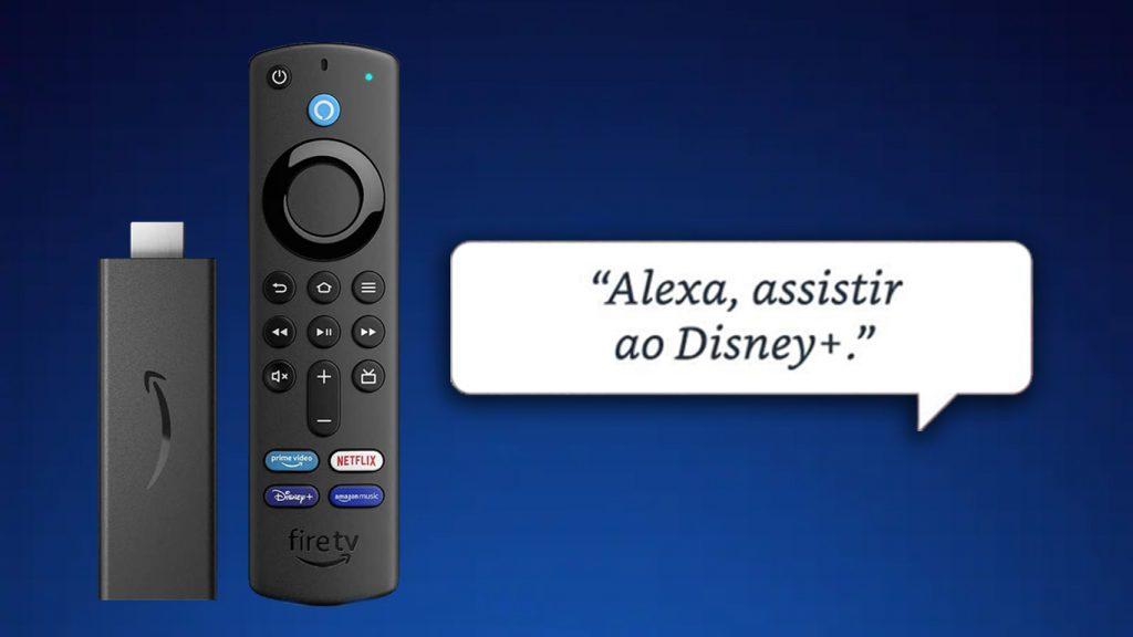 Amazon-Fire-TV-Stick-Disney-Plus-1024x576 Novo Fire TV Stick da Amazon tem Botão do Disney+ e está em Pré-venda
