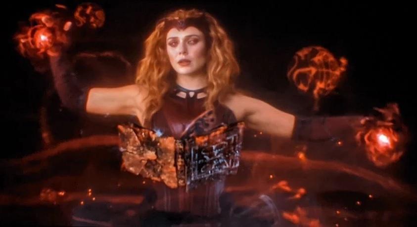 Feiticeira-Escarlate-e-o-Darkhold Loki explica como Wanda conseguiu ouvir os filhos em WandaVision
