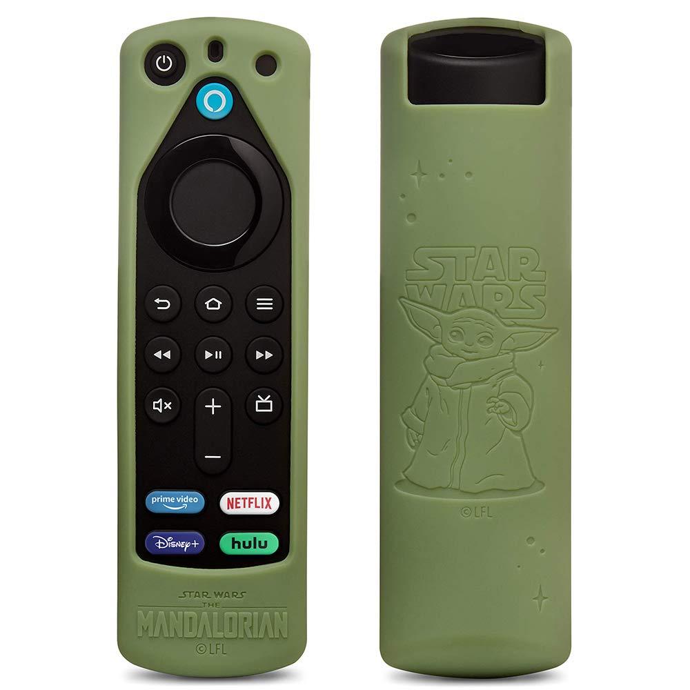Fire-TV-Stick-Capinha-The-Mandalorian-Grogu Novo Fire TV Stick da Amazon tem Botão do Disney+ e está em Pré-venda