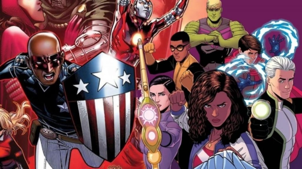 Jovens-Vingadores-1024x574 Quando e onde a Marvel vai introduzir os Jovens Vingadores?