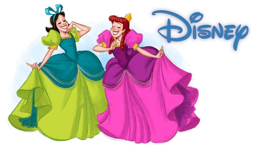 Anastasia-Tremaine-e-Drizella-Tremaine-1024x576 Drizella e Anastasia, Irmãs Malvadas da Cinderela, Terão um Filme só Delas