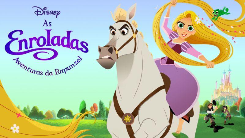 As-Enroladas-Aventuras-de-Rapunzel-Disney-Plus Lançamentos Disney+ do dia 30/04, incluindo '22 Contra a Terra' e 'Avante'