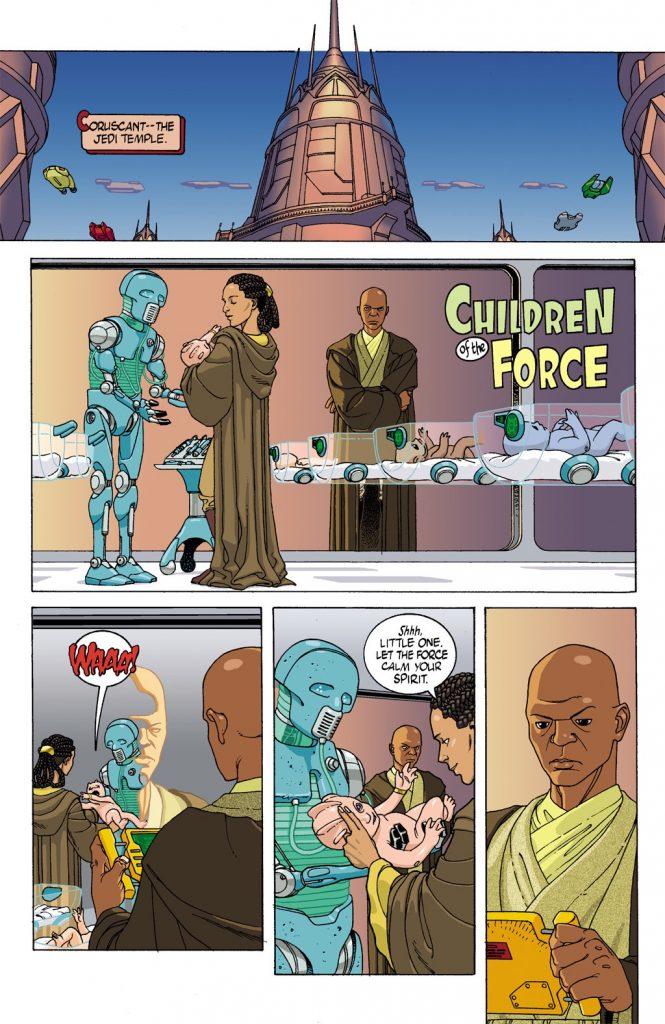 Children-of-the-Force-665x1024 Quadrinhos Podem ter Revelado a Origem do Baby Yoda