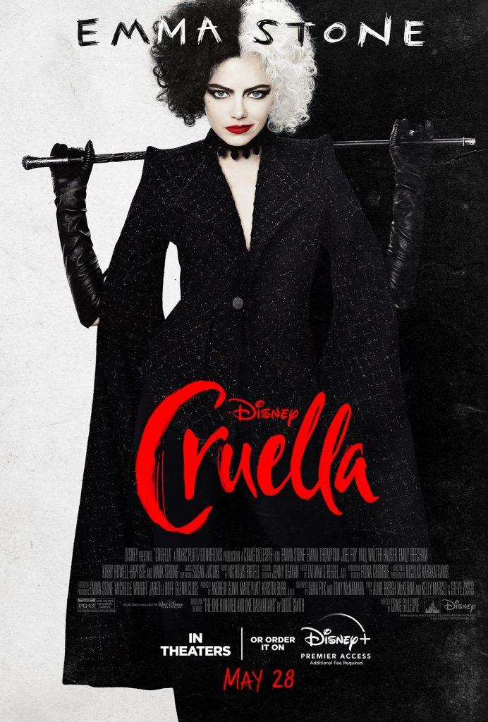 Cruella-Novo-Poster-692x1024 Cruella: Novo Trailer Revela Influência da Baronesa na Origem da Vilã