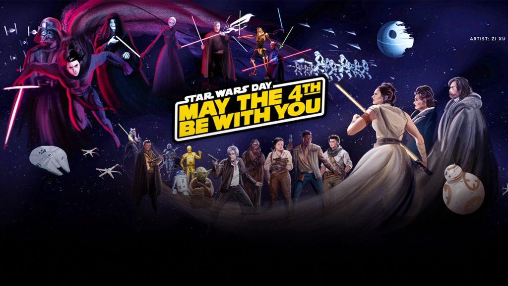 Dia-de-Star-Wars-Disney-Plus-1024x576 Página de Star Wars no Disney+ Recebe Atualização Comemorativa