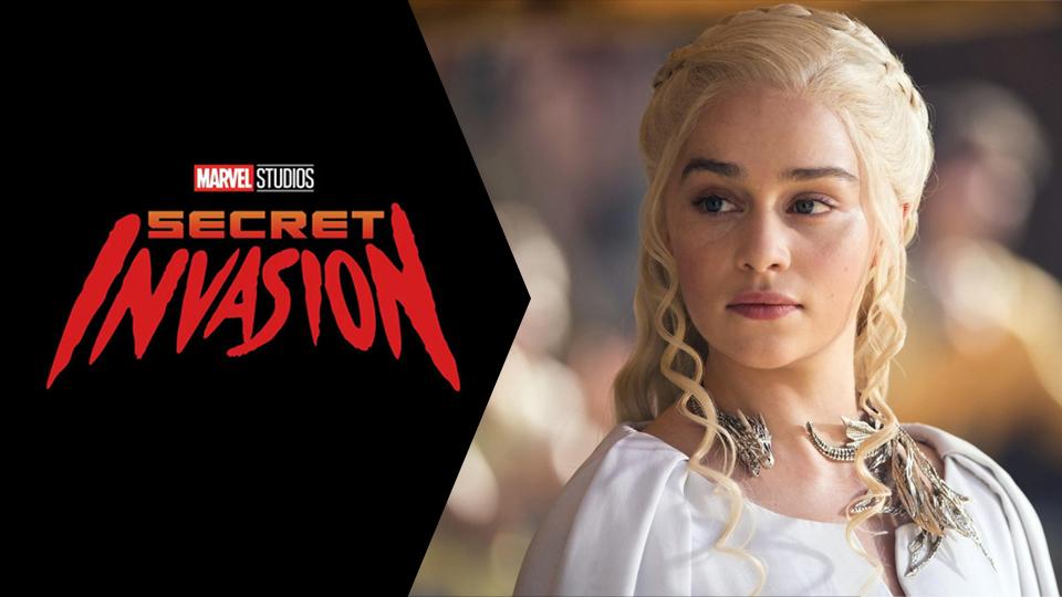 Emilia-Clarke-Invasao-Secreta Emilia Clarke Entra para o Super Elenco de Invasão Secreta, da Marvel