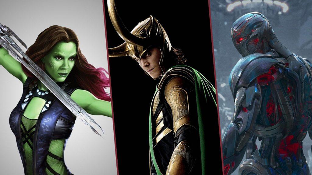 Gamora-Loki-e-Ultron-1024x576 What If...? Vazamento Revela Versões Bem Diferentes de Gamora, Loki e Ultron