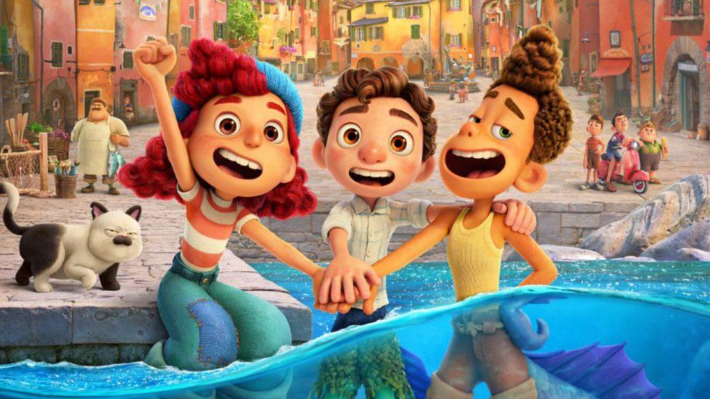 Luca-Pixar-Disney-Plus-1024x576 Luca: Novo Trailer Mostra Amigos Monstros Aprendendo sobre os Humanos