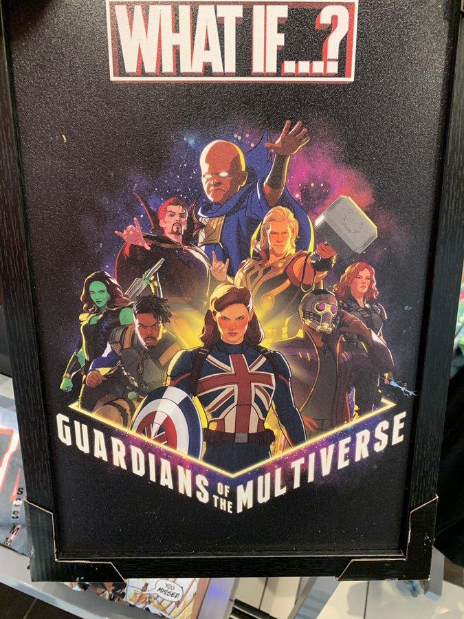 Poster-What-If-Marvel Pôster Pode Ter Revelado Spoiler de What If...?