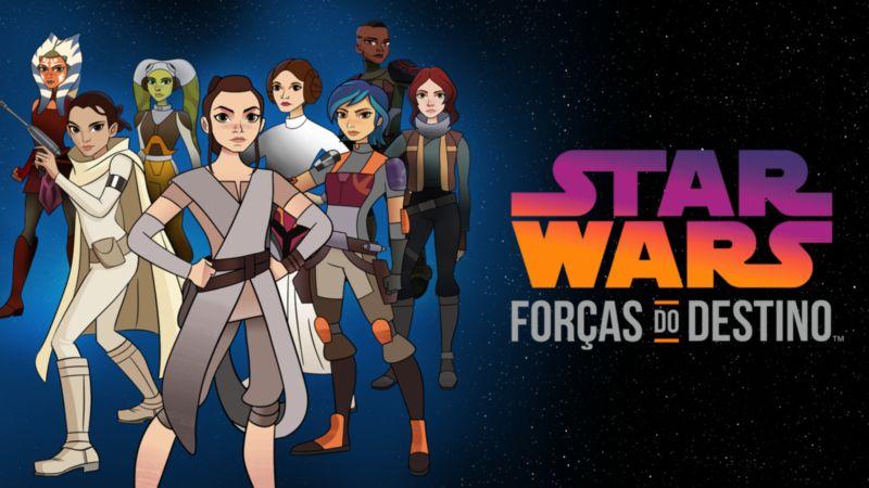 Star-Wars-Forcas-do-Destino-Disney-Plus Star Wars Day: Veja as 10 Novidades que Chegaram Hoje ao Disney+