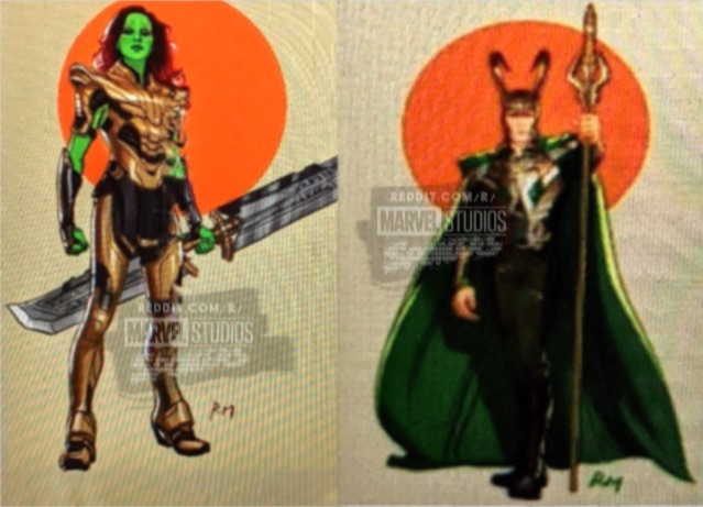 What-If-Gamora-e-Loki What If...? Vazamento Revela Versões Bem Diferentes de Gamora, Loki e Ultron