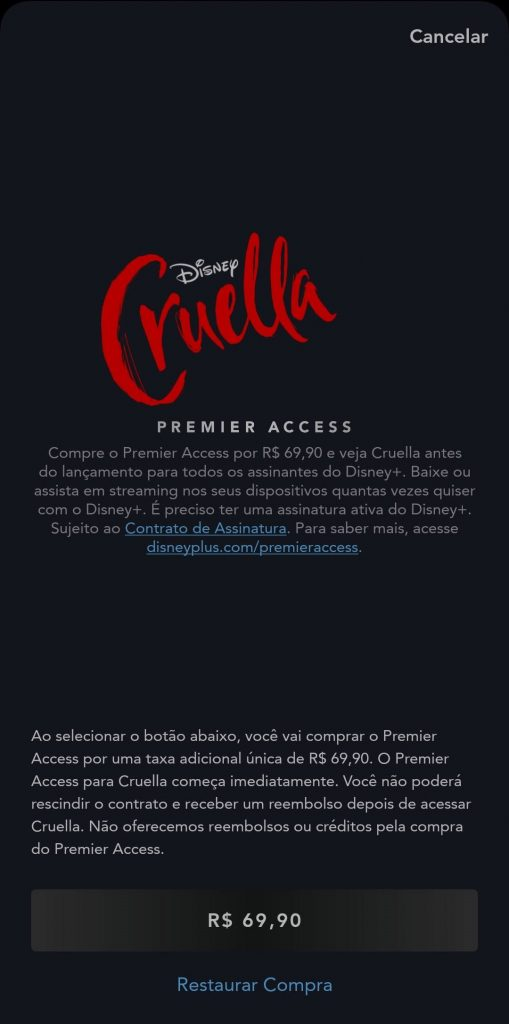 Cruella-Premier-Access-3-509x1024 Como comprar Cruella pelo Premier Access no Disney+?