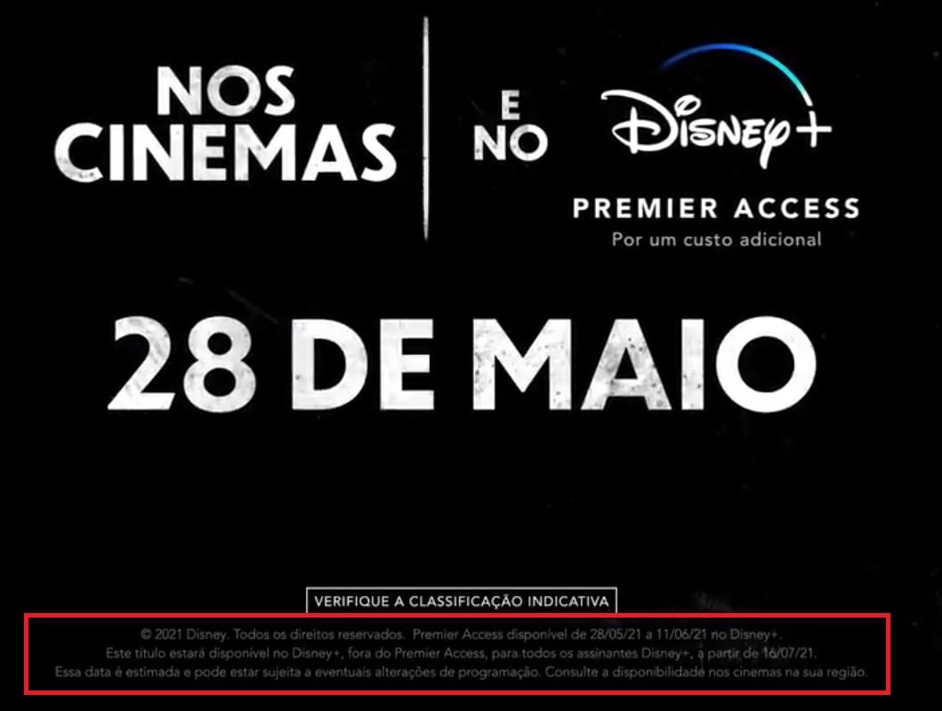 Datas-Premier-Access-Cruella Quando Cruella Ficará Grátis para Assistir no Disney+?