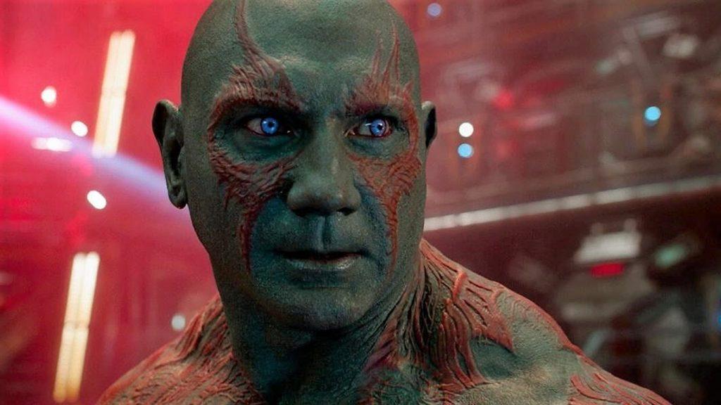 """Drax-Despedida-Guardioes-da-Galaxia-1024x576 Novo Drax fala sobre substituir Dave Bautista: """"não quero problemas com ninguém"""""""