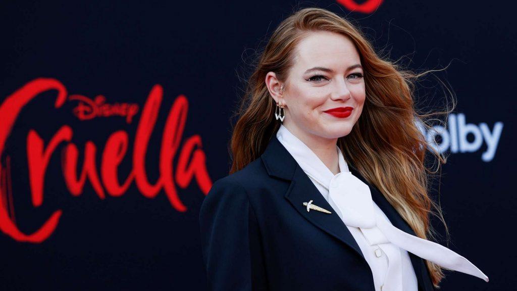 Emma-Stone-Premiere-Cruella-1024x576 Emma Stone diz qual vilã da Disney deveria ganhar um filme depois de Cruella