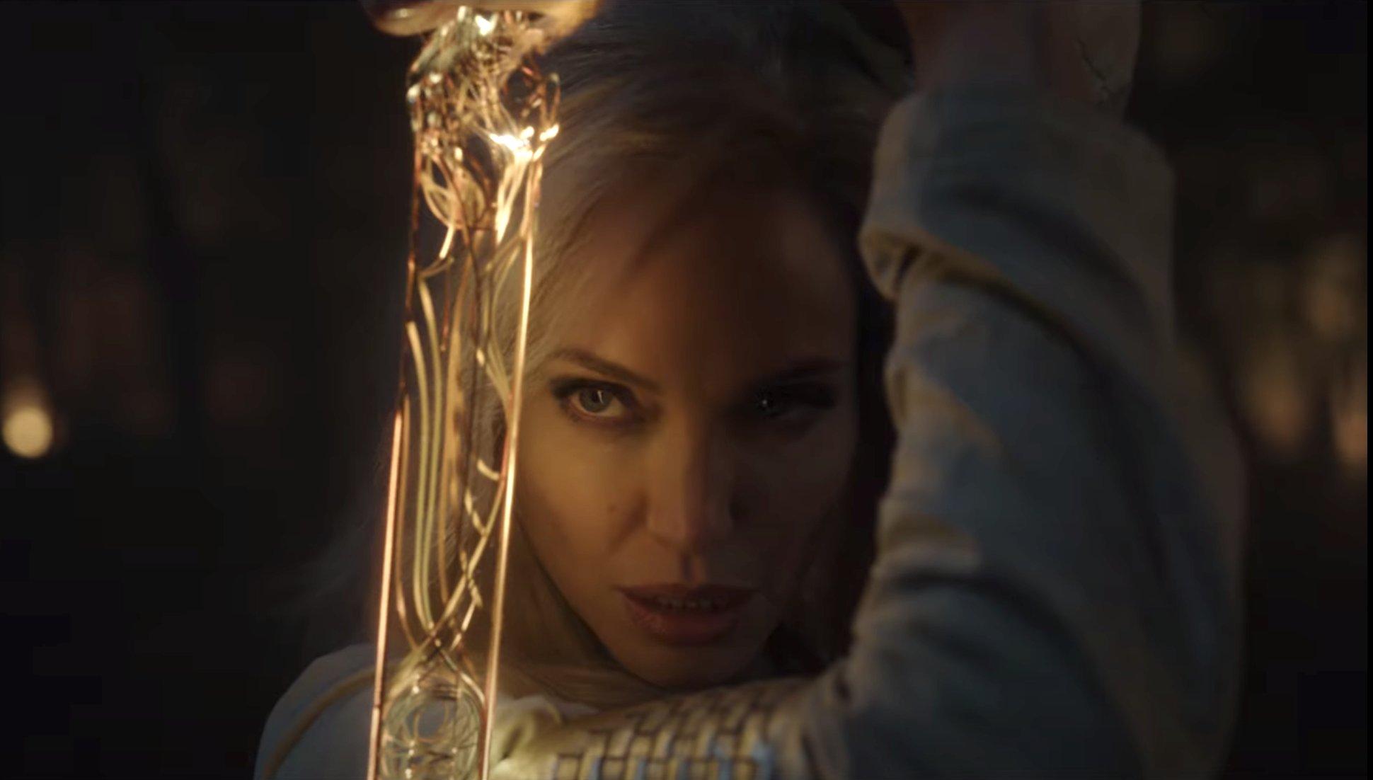 Eternos-4 Eternos Ganha Primeiras Imagens e Teaser Inédito destacando Angelina Jolie