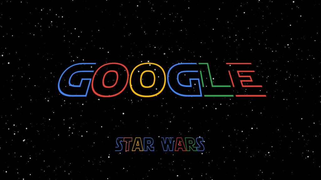 Google-Dia-de-Star-Wars-1024x576 Dia de Star Wars: Pesquisa no Google Faz Chuva de Confetes com o Tema