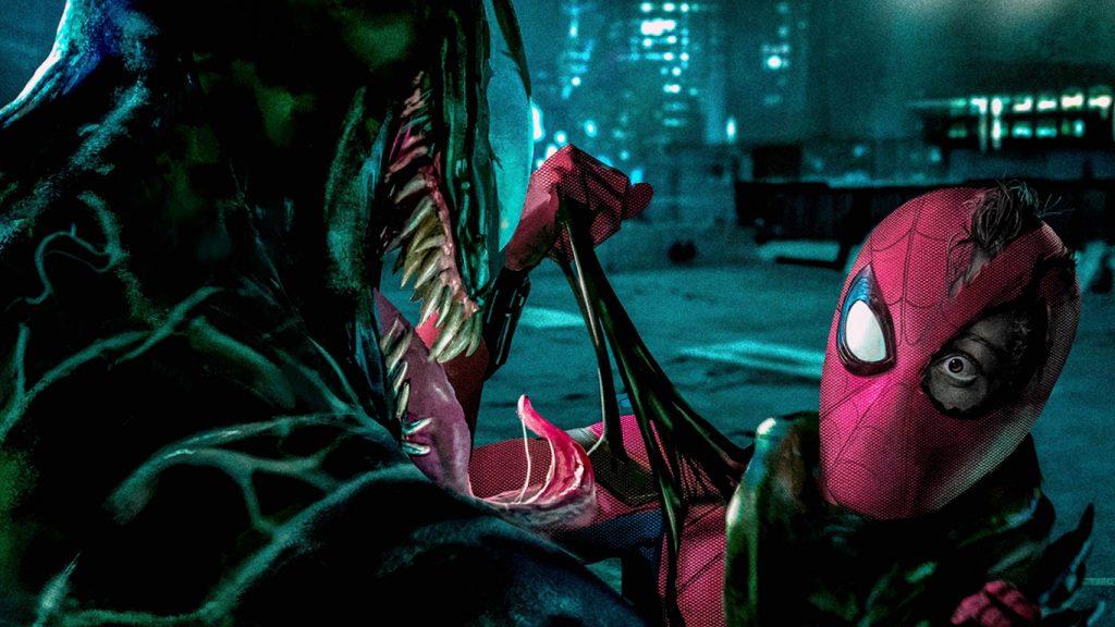 Homem-Aranha-vs-Venom-Sony-1024x576 Diretor revela que crossover de Homem-Aranha e Venom está em desenvolvimento