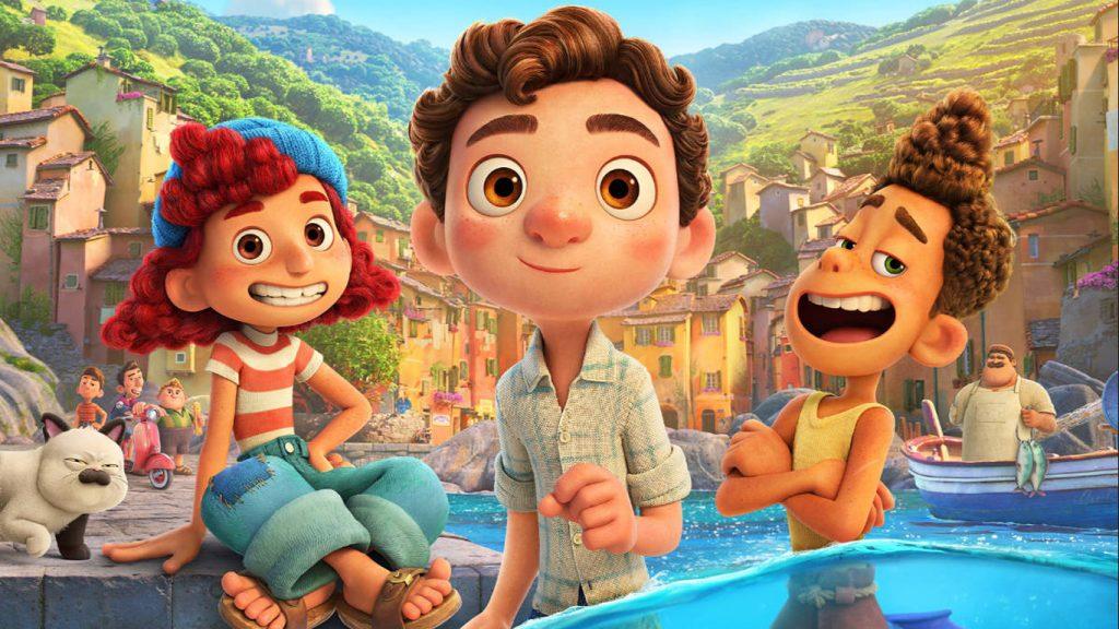 Luca-Alberto-e-Giulia-1024x576 Luca: Diretor explica porque a animação da Pixar se passa na Itália dos anos 50