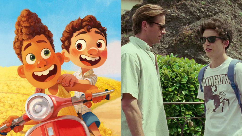 Luca-Pixar-e-Me-Chame-Pelo-Seu-Nome-1024x576 Luca: Diretor Responde às Comparações com 'Me Chame Pelo Seu Nome'